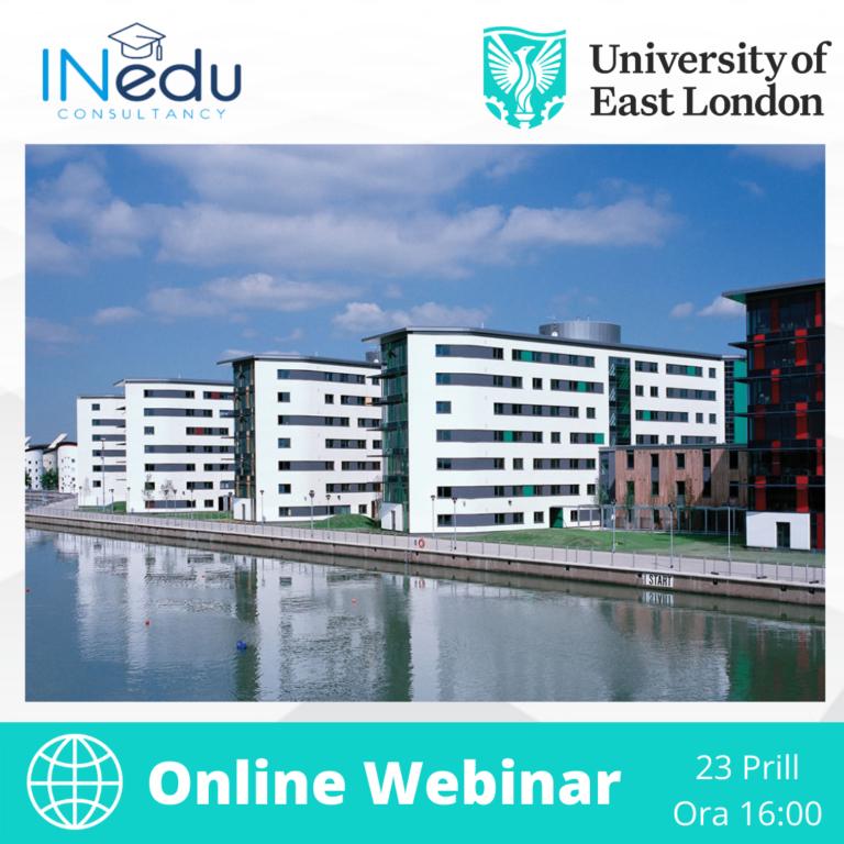 UEL Online Webinar Visual